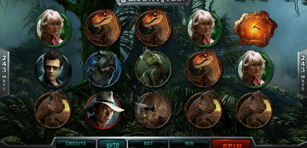 Jurassic Park Slot Tiny